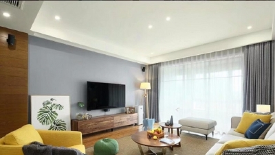 129平北欧风三居室,舒适自然的居住氛围