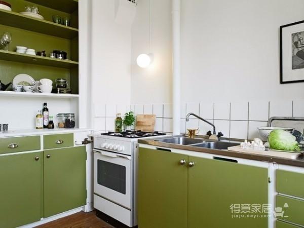 打造33平绿意小公寓