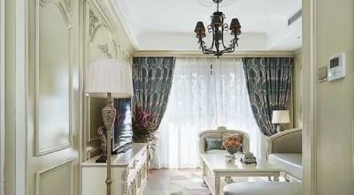 甜蜜新婚房,126平清新法式风三居室