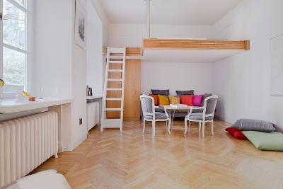 40平挑高公寓挑战全能