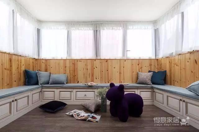 151㎡优雅美式三室两厅,花香四溢的诗意美居