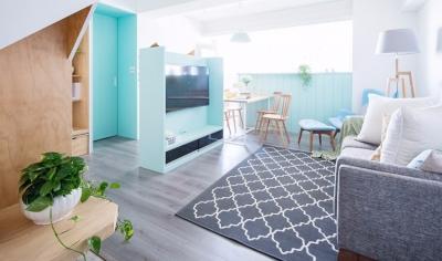 两室两厅多彩清新北欧风格