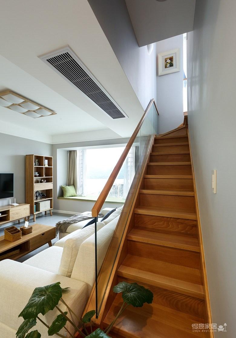 高层复式房,俯瞰全城风景日式原木风