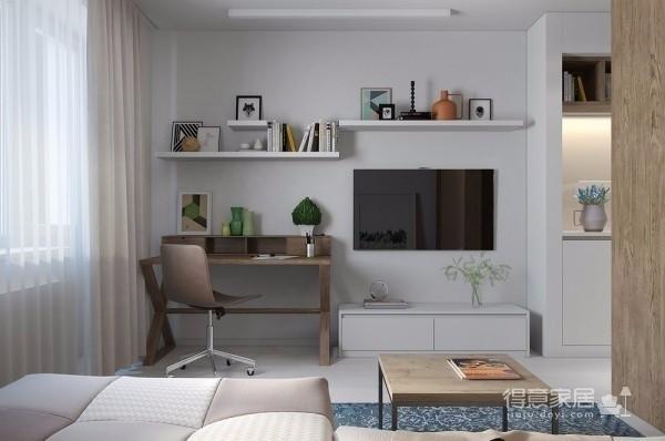 30㎡单身公寓图_2