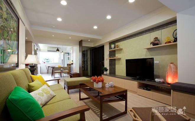 爱家名校华城,136平,新中式风格,案例欣赏