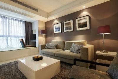 温馨整洁两居室设计