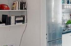 45㎡单身公寓的北欧小资情调图_5