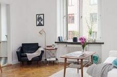 45㎡单身公寓的北欧小资情调图_2