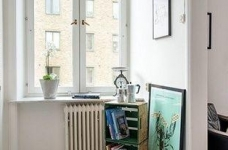 45㎡单身公寓的北欧小资情调图_10