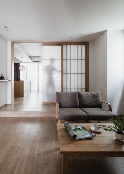 台湾日式风格公寓设计