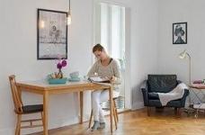 45㎡单身公寓的北欧小资情调图_7