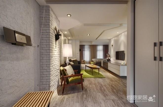 光谷坐标城,55平,现代简约风格,案例欣赏