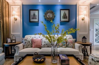 180平四居室美式风格