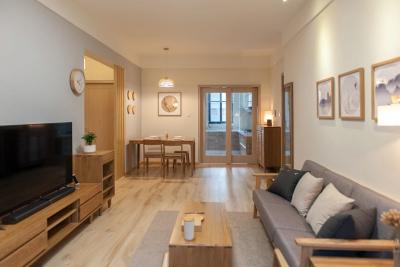 98㎡两室两厅原木日式风格