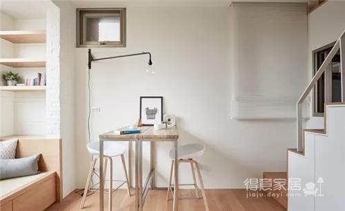 19㎡ LOFT迷你公寓,小空间大利用
