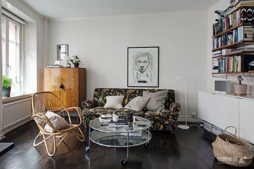 56平方简美风小公寓设计