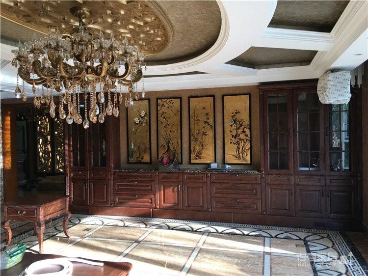 四室一厅的完美变身 经典美式复古装修梦之源实木