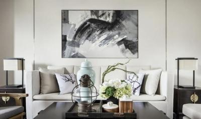 130平新中式风格设计,格调高雅又简朴优美