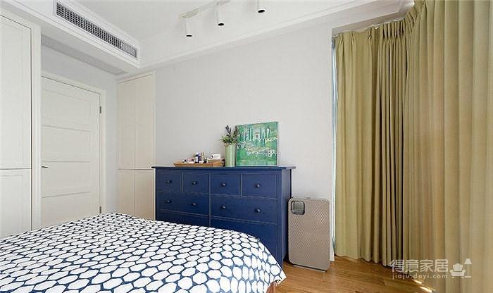 一城一梦一个家 105平美式简约舒适3居
