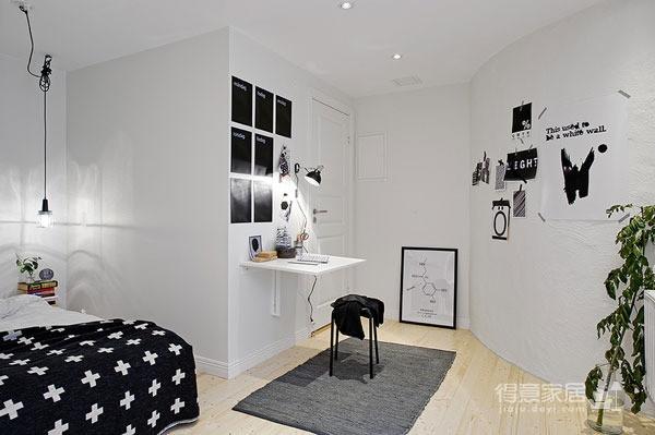 48平黑白配简约小公寓