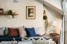 78平米两室两厅北欧风格图_2