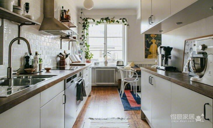 78平米两室两厅北欧风格图_1