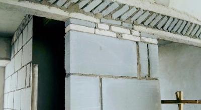 【乐居美宅】砌墙工艺,大砖小砖一起用
