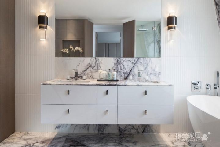 质感精致的美式风格两居室,设计优雅迷人图_9