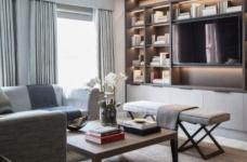 质感精致的美式风格两居室,设计优雅迷人图_3