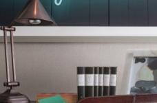 质感精致的美式风格两居室,设计优雅迷人图_7