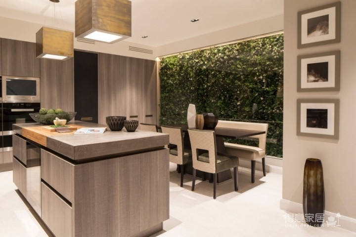 质感精致的美式风格两居室,设计优雅迷人图_4