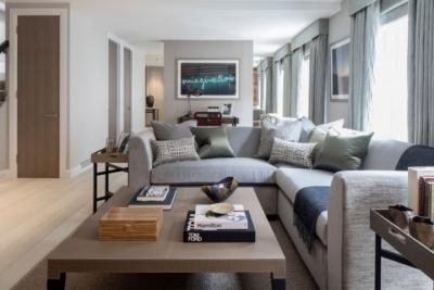 质感精致的美式风格两居室,设计优雅迷人