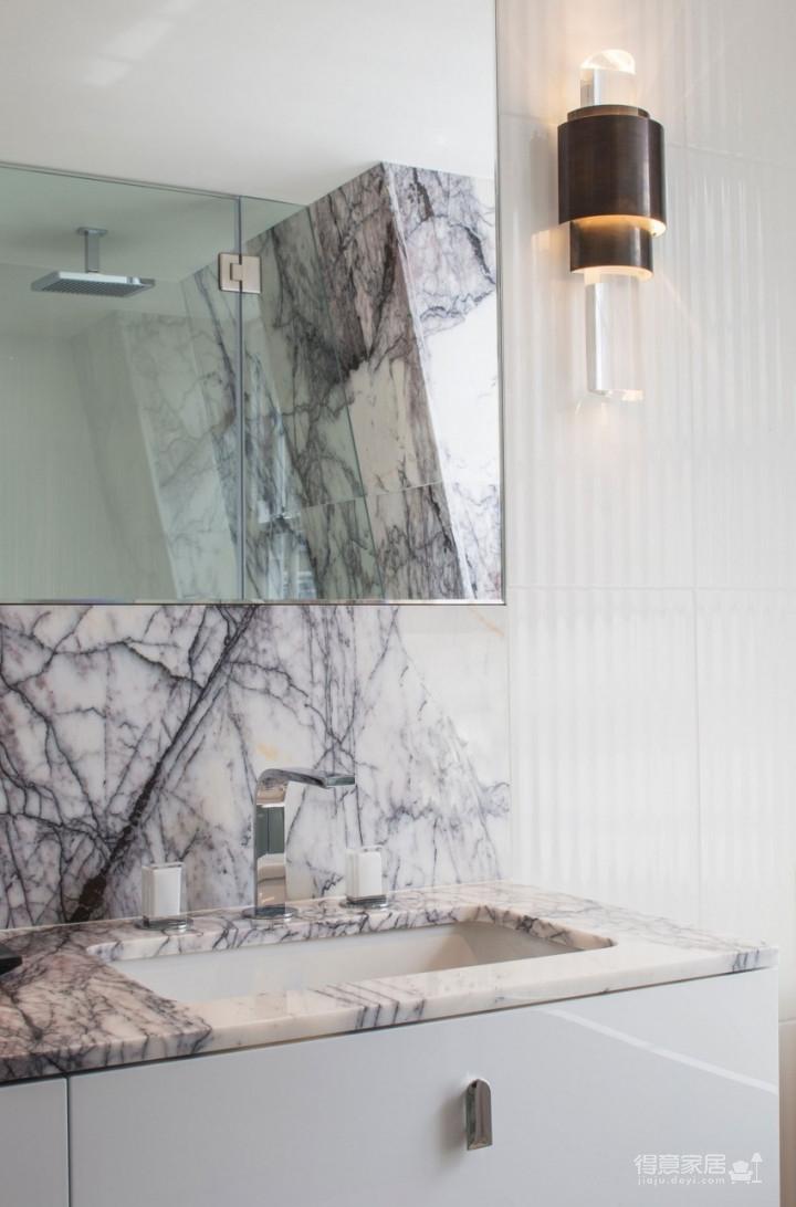 质感精致的美式风格两居室,设计优雅迷人图_18
