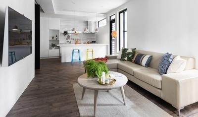 55平简约开放式居室 老屋翻新创造自然生活
