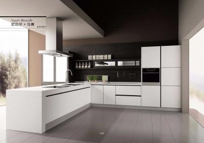 【柏优】极简主义整体橱柜效果图,收藏创意厨房家居生活点点滴滴!