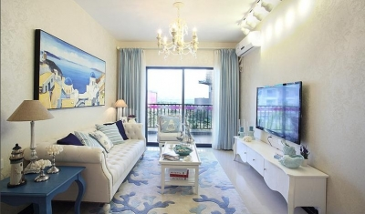 3室2厅100平米简约风格