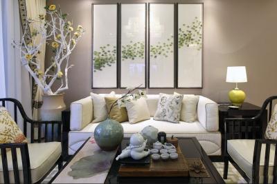 2室2厅98平米清新中式风格