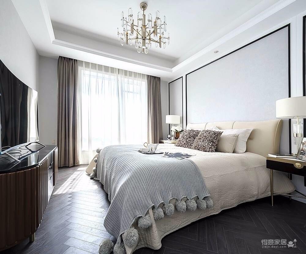 【巴黎故事 古典风格精致生活空间】万达御湖世家-三室-182㎡