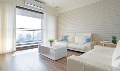 台北95平清新活力两居室