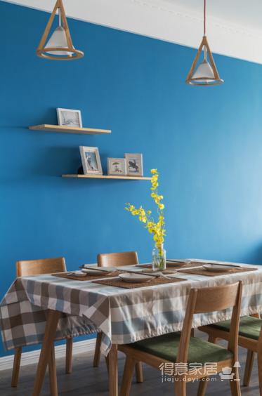 纯真一抹蓝,建筑设计师的家图_7