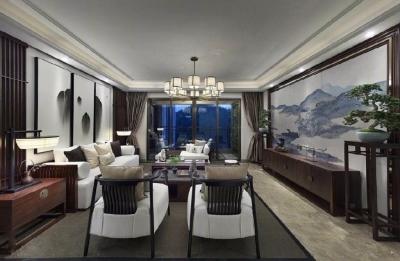 【古典中式风格】万达御湖世家四室-240㎡