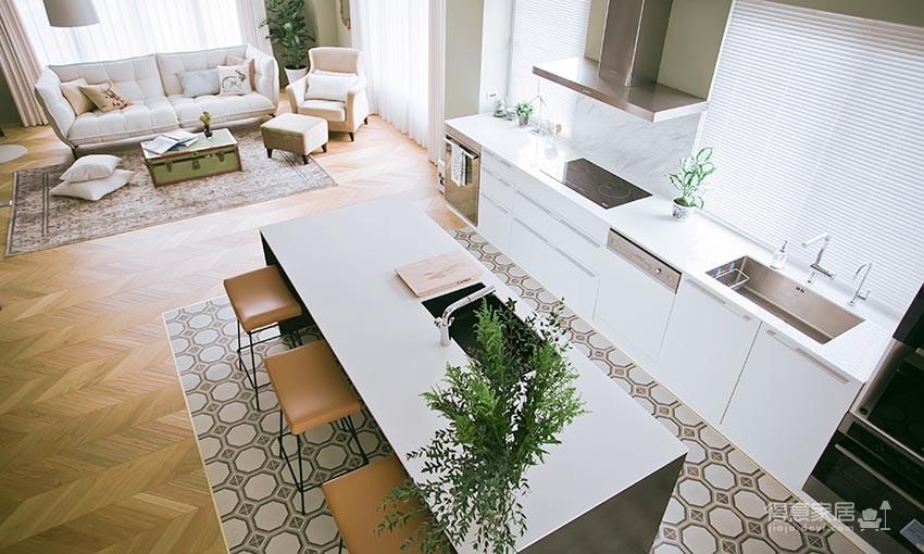 60平美式风loft,复古公寓的温馨感图_8