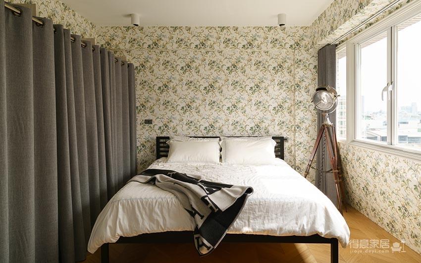 60平美式风loft,复古公寓的温馨感图_11