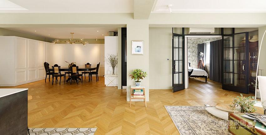 60平美式风loft,复古公寓的温馨感图_6