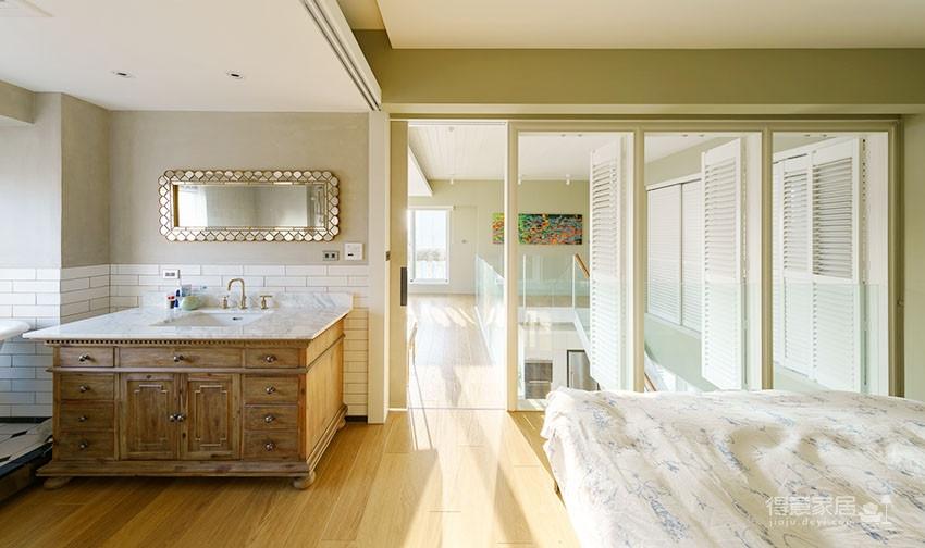 60平美式风loft,复古公寓的温馨感图_16