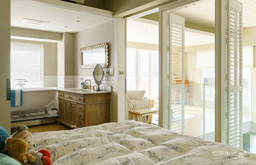 60平美式风loft,复古公寓的温馨感图_10