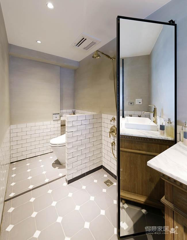 60平美式风loft,复古公寓的温馨感图_21
