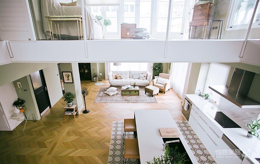 60平美式风loft,复古公寓的温馨感图_17