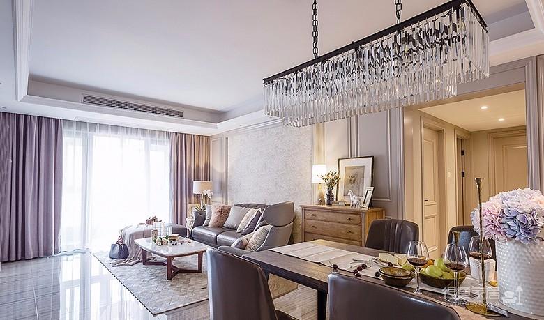 高贵典雅 130平现代法式3居室
