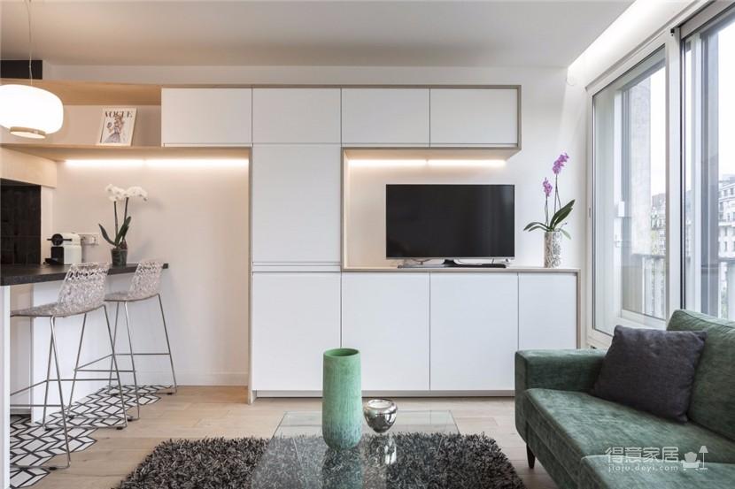 优雅简洁一居室公寓